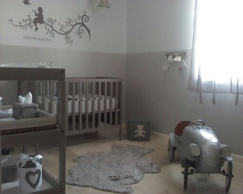 Emejing Chambre Bebe Beige Et Rouge Photos - House Design ...