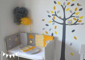 Decoration Chambre Bebe Jaune Moutarde