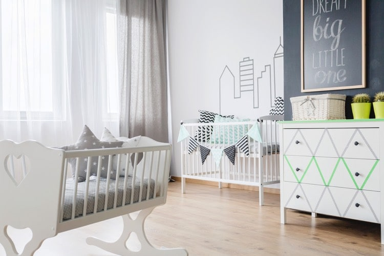 deco chambre bebe garcon moderne b b doudou univers. Black Bedroom Furniture Sets. Home Design Ideas