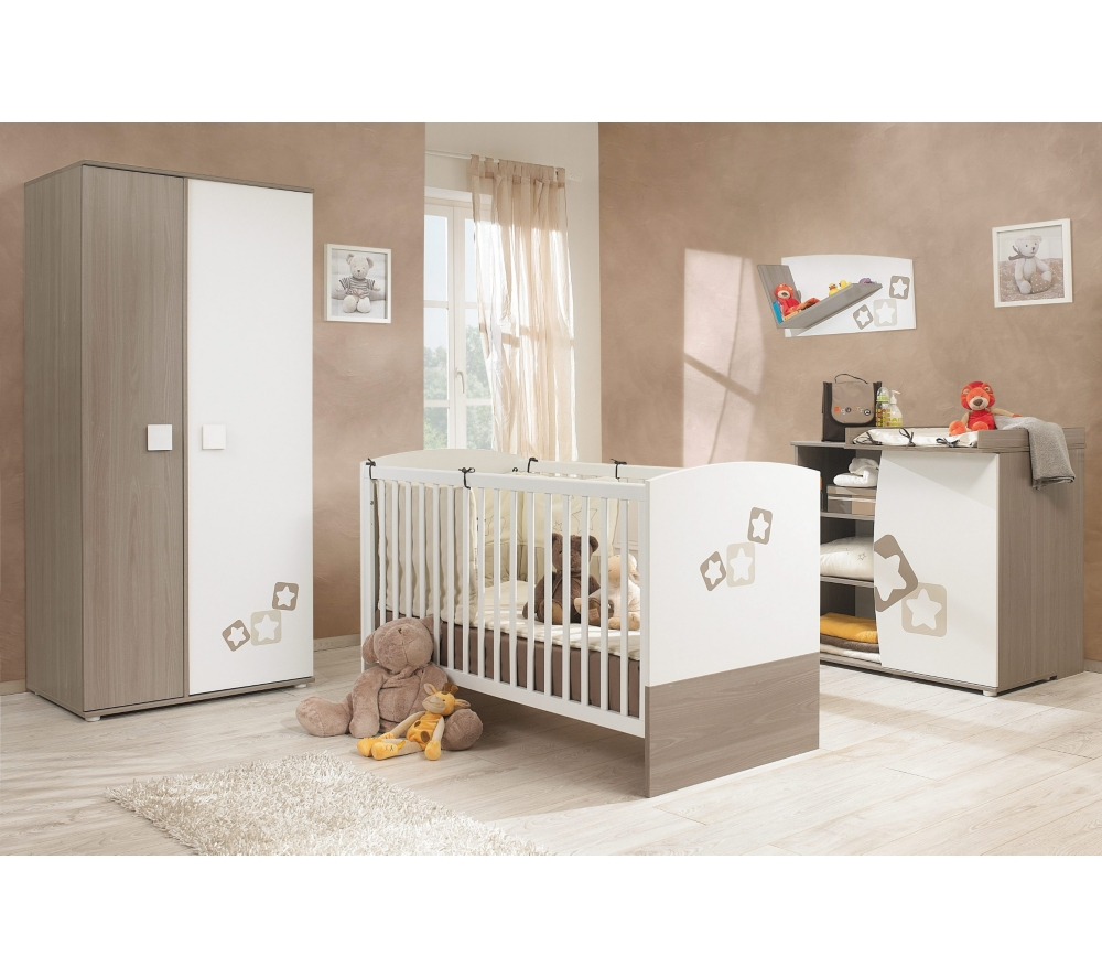 Chambre bebe blanche soldes