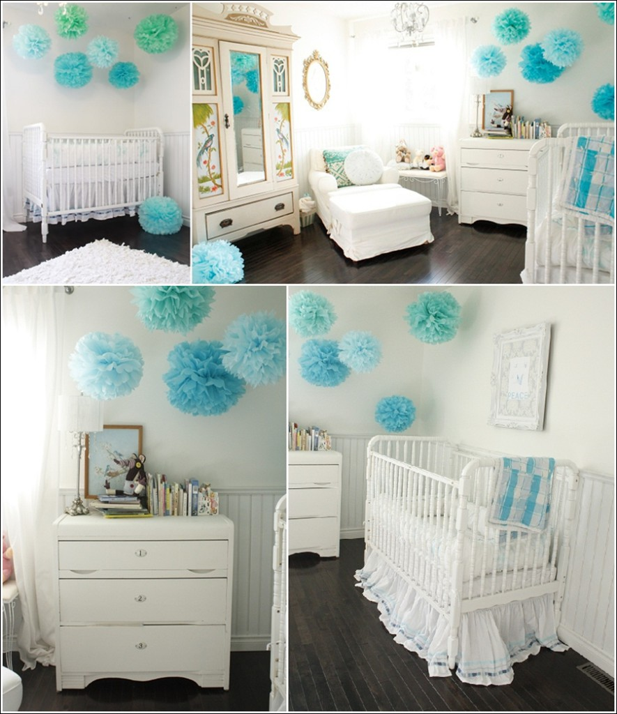 Deco chambre bebe garcon turquoise