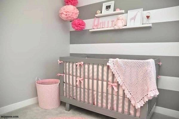 Genial Deco Chambre Bebe Rose Et Taupe