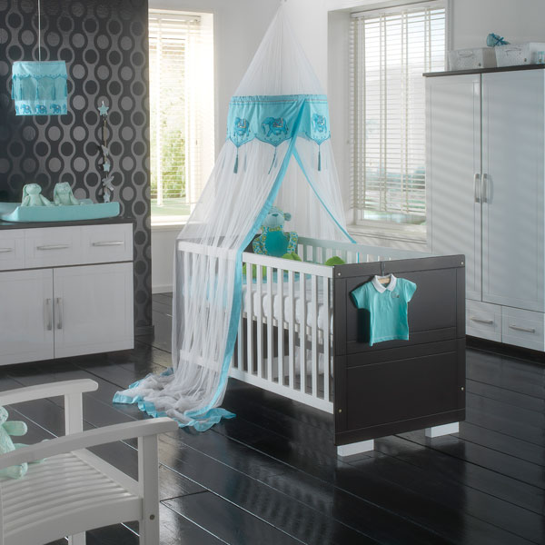 Charmant Decoration Chambre Bebe Turquoise Gris