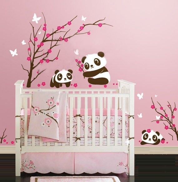 chambre b b fille animaux b b doudou univers. Black Bedroom Furniture Sets. Home Design Ideas
