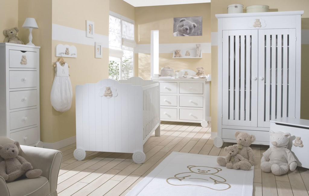 Chambre Bebe Blanche Et Taupe