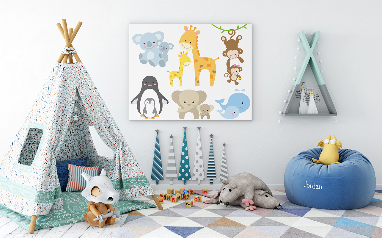 Decoration chambre bebe animaux