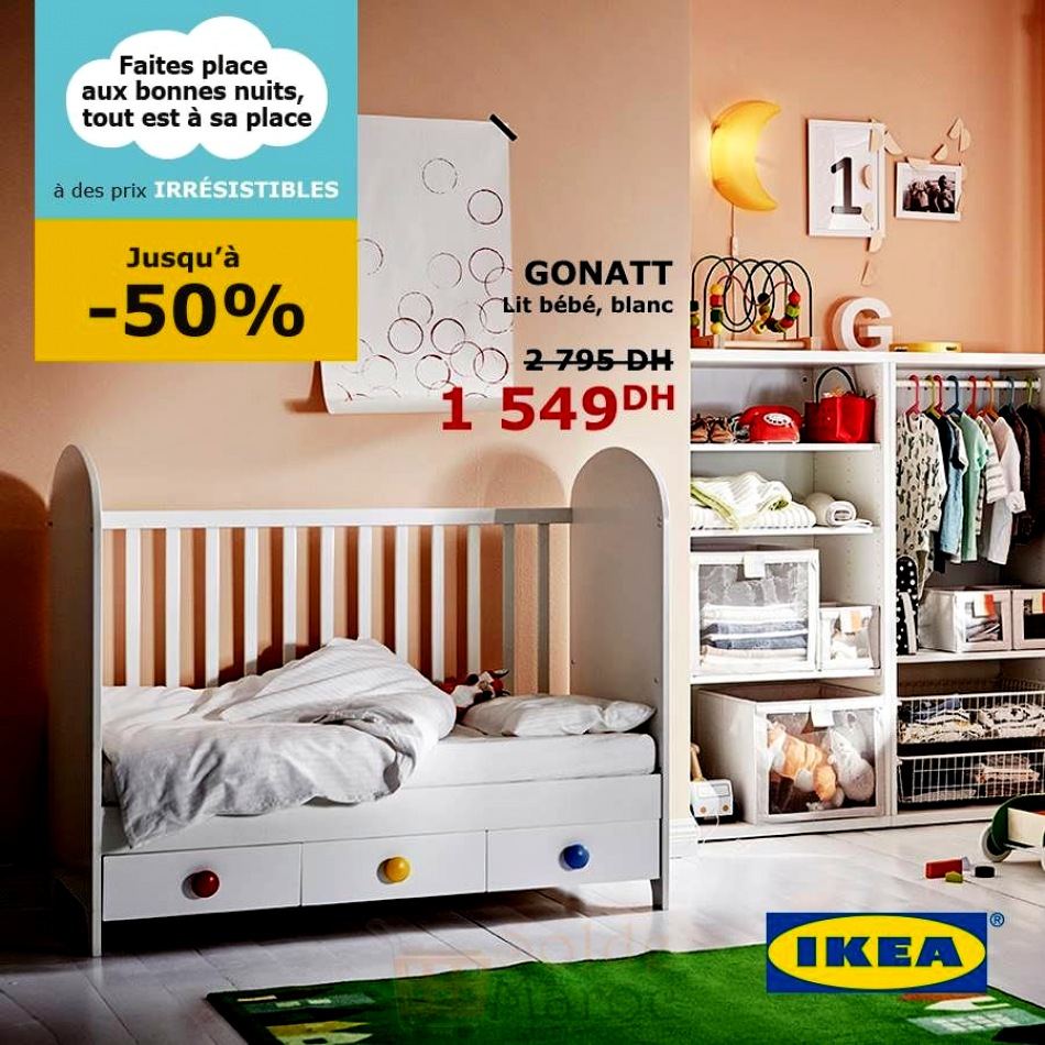 chambre bebe ikea pas cher b b doudou univers. Black Bedroom Furniture Sets. Home Design Ideas