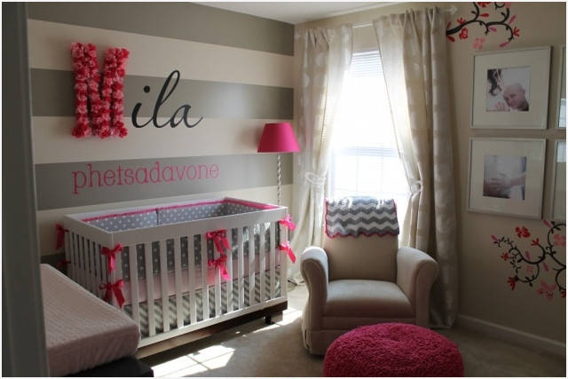 id e th me chambre b b fille b b doudou univers. Black Bedroom Furniture Sets. Home Design Ideas
