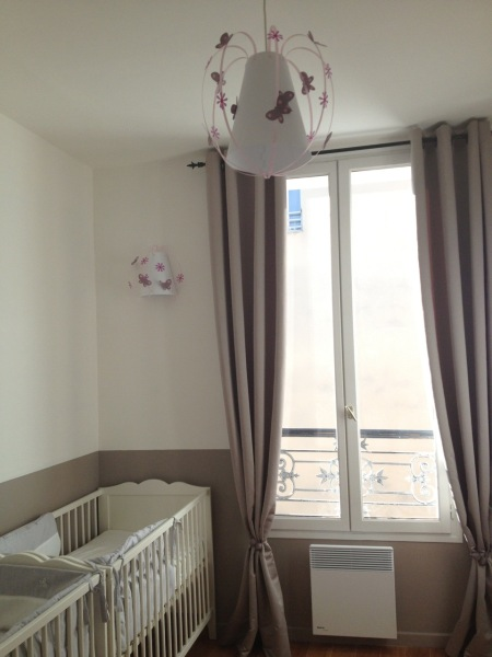 Chambre Bebe Taupe Et Blanche