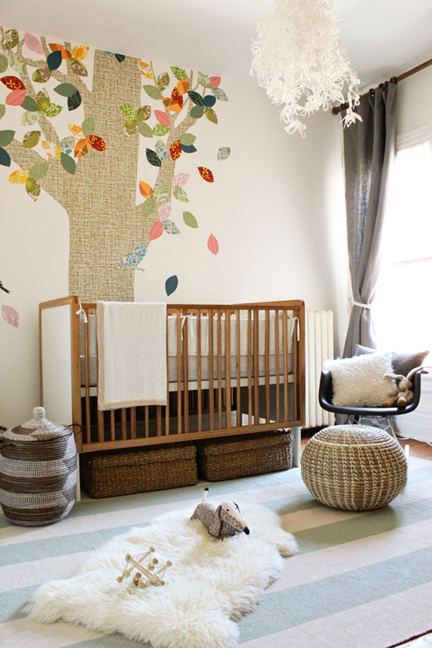 Decoration chambre bebe nature
