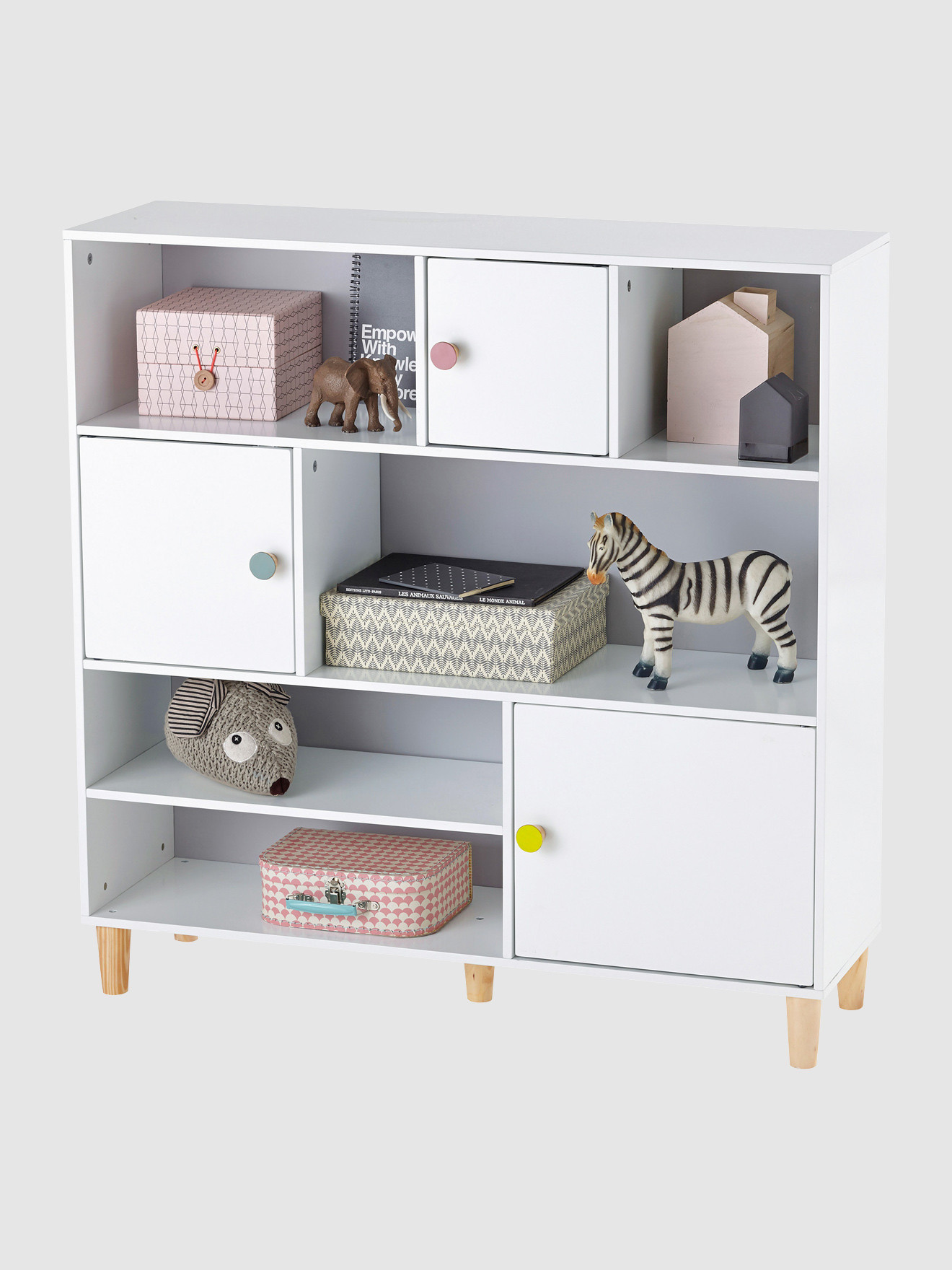Etagere bibliotheque chambre bebe