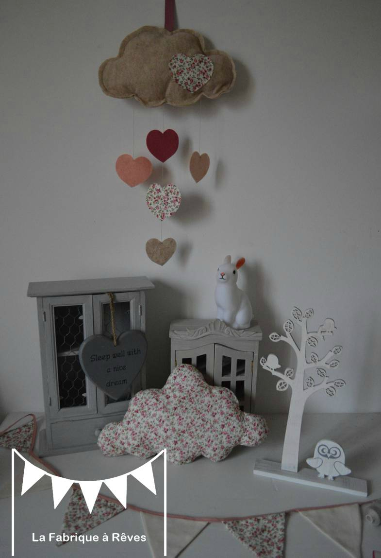 Decoration chambre bebe prune
