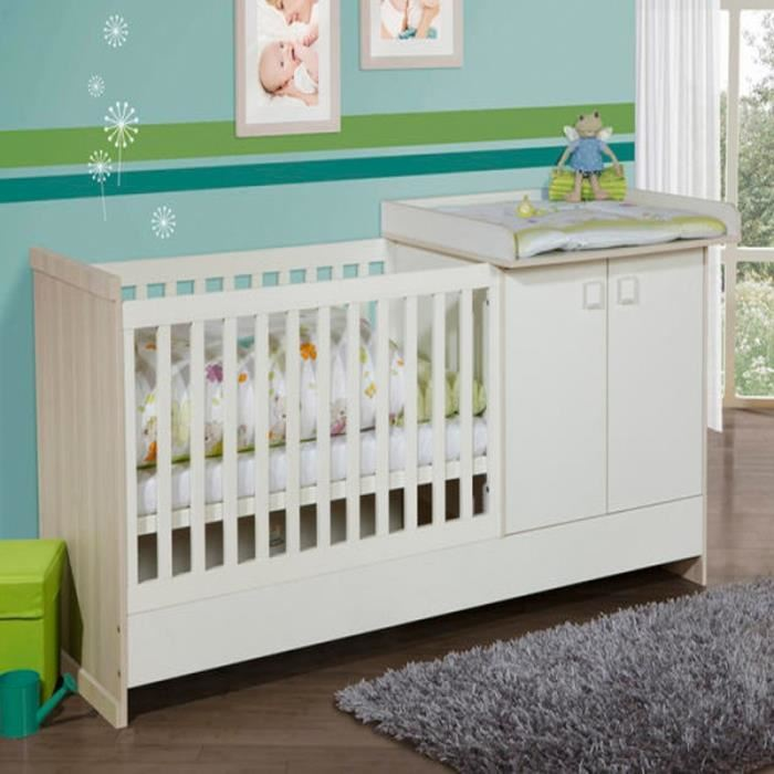 Lit bebe table a langer cdiscount