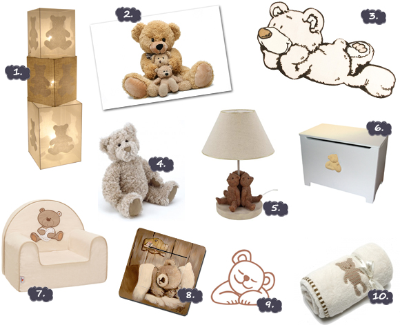 Decoration chambre bebe ours